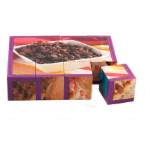SLM406 - Snacks Cube Puzzle in Health & Nutrition