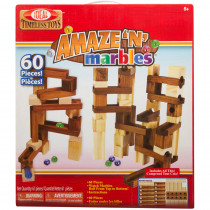 SLT4600M - Amaze-N-Marbles 60 Piece Set in Games