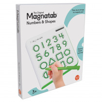 0 to 9 & Shapes Magnatab - SME10606 | Playmonster Llc (Patch) | Numeration