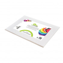 SMF23809124510 - Smart Fab Cut Sheets 9X12 White in Craft Paper