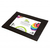 SMF23809124520 - Smart Fab Cut Sheets 9X12 Black in Craft Paper