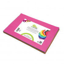 SMF23809124599 - Smart Fab Cut Sheets 9X12 Assorted in Craft Paper