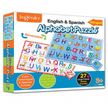 SMP31111 - Bilingual Alphabet Puzzle in Alphabet Puzzles