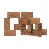 SMT5016 - 16Pc Giant Timber Blocks in Blocks & Construction Play