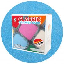 Classic Colored Sand, Light Blue, 25 lb (11.3 kg) Box - SNDCS2524   Sandtastik   Sand
