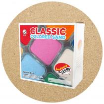 Classic Colored Sand, Beach, 25 lb (11.3 kg) Box - SNDCS2543 | Sandtastik | Sand