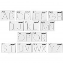 SR-026 - Beginning Alphabet Templates Upper Case in Handwriting Skills