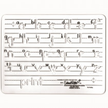 SR-2051 - Template Mauscript Lowercase 1 Letters in Handwriting Skills