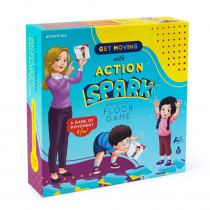 Action Cards SPARK Floor Game - SRKSPAFG106 | Spark Innovations | Card Games