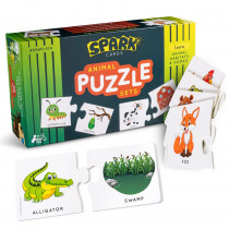 Animal Home and Habitat Matching Puzzle - SRKSPAH102 | Spark Innovations | Card Games