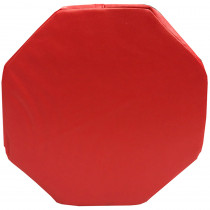 SSZ58735 - Red Octagon Pillow in Sensory Development