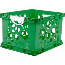 STX61458U03C - Premium File Crate W Handles Green Classroom in Storage