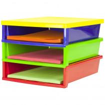 STX61640E01C - Quick Stack Construction Paper Organizer in Storage
