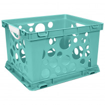 STX61694U03C - Premium File Crate W Handles Teal Classroom in Storage