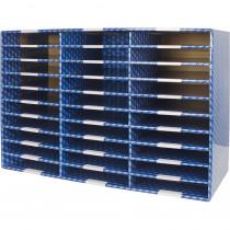 Laminated Corrugated Mailroom Sorter - 30 Compartments - STX80303U01C | Storex Industries | Storage