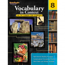 SV-9780547625812 - Gr 8 Vocabulary In Context For The Common Core Standards in Vocabulary Skills