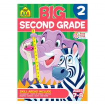 SZP06318 - Big Second Grade Workbook in Skill Builders