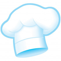 T-10112 - Chefs Hats Bake Shop Classic Accents in Accents