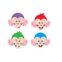 T-10877 - Monkey Mischief Friendly Faces Mini Accents Variety Pack in Accents