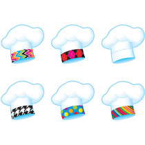 T-10885 - Chefs Hats Bake Shop Mini Accents Variety Pack in Accents