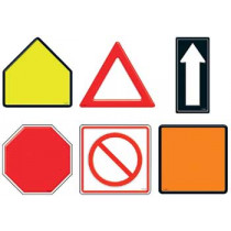 T-10947 - Classic Accents Safety Signs Variety Pk in Accents