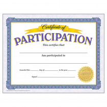 T-11303 - Certificate Of Participation 30/Pk in Certificates