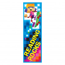 T-12125 - Reading Rocks Blockstars Bookmarks in Bookmarks