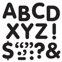 T-1791 - Stick-Eze 2In Letters & Marks Black in Letters
