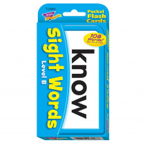 T-23028 - Pocket Flash Cards Sight Words B in Sight Words