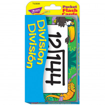 T-23036 - Pocket Flash Cards Division Bilingual in Flash Cards