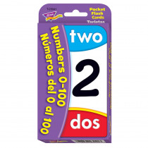 T-23041 - Numbers 0-100 Bilingual in Flash Cards