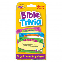 T-24702 - Bible Trivia Challenge Cards in Inspirational