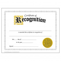 T-2564 - Certificate Of Recognition 30/Pk Classic 8-1/2 X 11 in Certificates