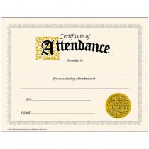 T-2566 - Classic Certificate Of 30/Pk Attendance 8-1/2 X 11 in Certificates