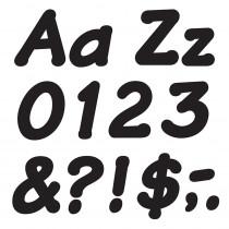T-2703 - Ready Letters 4 Inch Italic Black in Letters