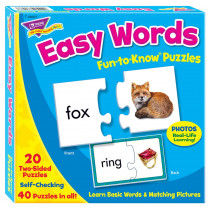 T-36007 - Fun-To-Know Puzzles Easy Words in Puzzles