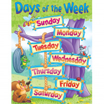 T-38030 - Chart Days Of The Week in Miscellaneous