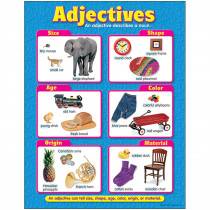 T-38132 - Chart Adjectives in Language Arts