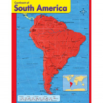 T-38144 - Chart Continent Of South America in Maps & Map Skills