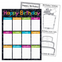 "Birthday Color Harmony Learning Chart, 17 x 22"" - T-38401 | Trend Enterprises Inc. | Classroom Theme"""