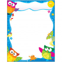 T-38450 - Owl Stars Learning Chart in Classroom Theme