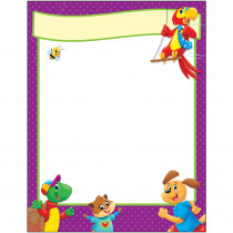 T-38457 - Blank Playtime Pals Learning Chart Learning in Language Arts