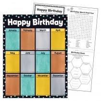 "Birthday I  Metal Learning Chart, 17 x 22"" - T-38461 | Trend Enterprises Inc. | Classroom Theme"""