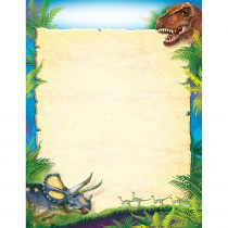 T-38491 - Blank Discovering Dinosaurs Learning Chart in Classroom Theme