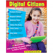 T-38641 - Digital Citizenship Learning Chart Primary in Miscellaneous