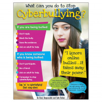 T-38643 - Cyberbullying Learning Chart Secondary in Miscellaneous