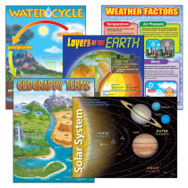 T-38929 - Combo Pks Earth Science Includes T38057 T38058 T38087 T38118&T38119 in Science