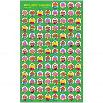 T-46189 - Bake Shop Cupcakes Superspots Stickers in Stickers
