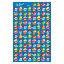 T-46194 - Owl Stars 800Pk Super Spots Stickers in Stickers
