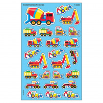 T-46304 - Supershapes Construction Vehicles in Stickers